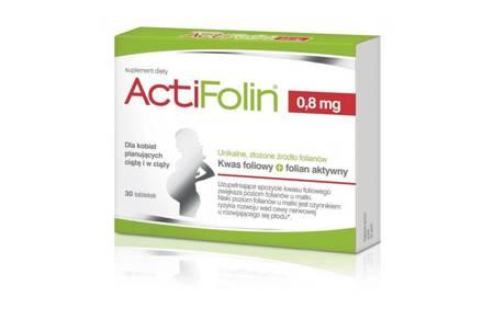 ActiFolin 0,8 mg 30 tabletek