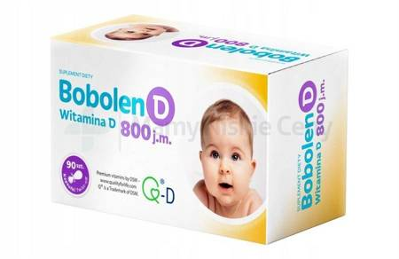Bobolen D witamina D3 800 j.m.  90 kapsułek twist-off