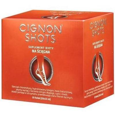Cignon Shots płyn 20 fiolek
