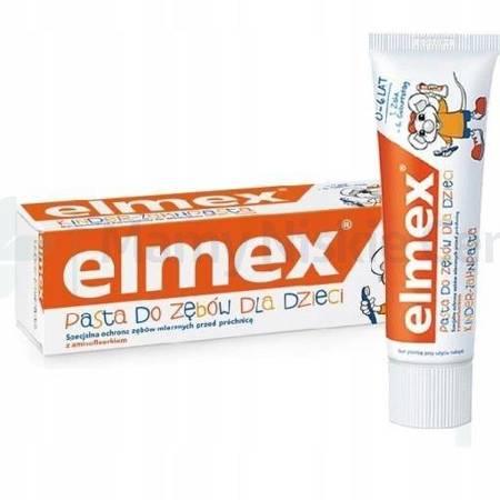 ELMEX Kids Pasta do zębów dla dzieci 0-6 lat 50ml