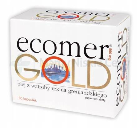 Ecomer GOLD 500 60 kapsułek
