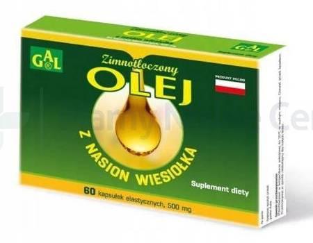 GAL Olej z wiesiołka 60 kapsułek
