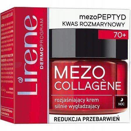 LIRENE Mezo Collagene 70+ krem na noc 50 ml
