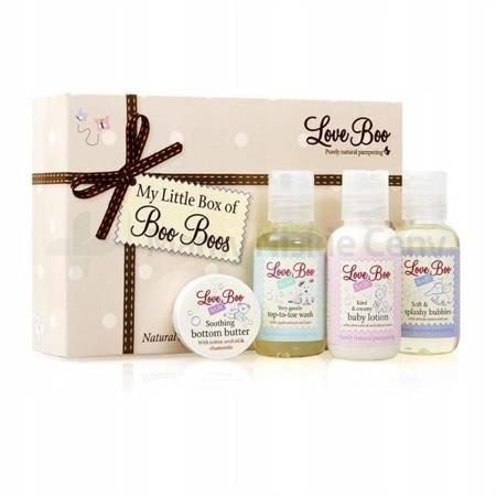 Love Boo mini SPA dla niemowląt 4 produkty