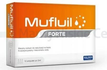 Mufluil Forte 10 ampułek po 2 ml