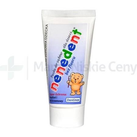 NENEDENT Pasta do zębów dla dzieci bez fluoru