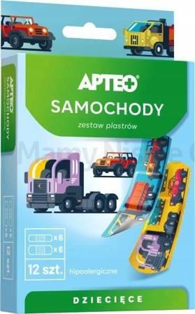 Plaster APTEO dla dzieci (samochodziki)