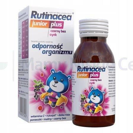 RUTINACEA JUNIOR syrop 100 ml