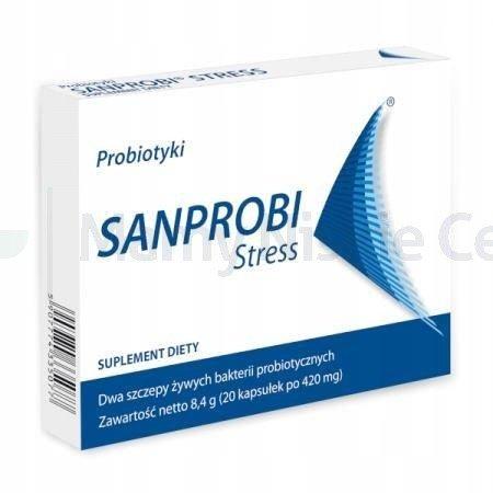 Sanprobi Stress 20 kapsułek