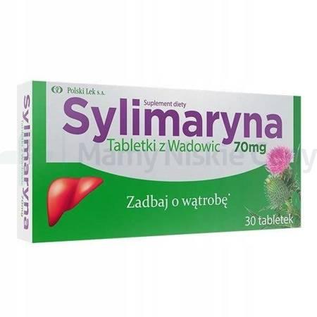 Sylimaryna z Wadowic 70 mg 30 tabetek