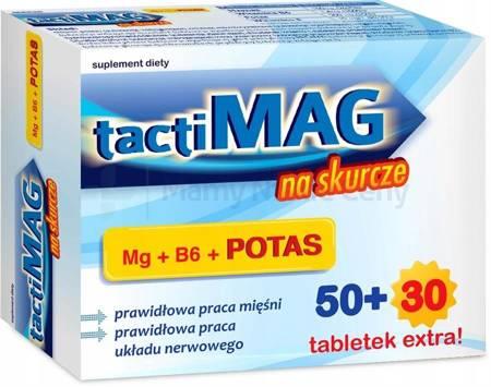 TactiMag na skurcze 80 tabletek