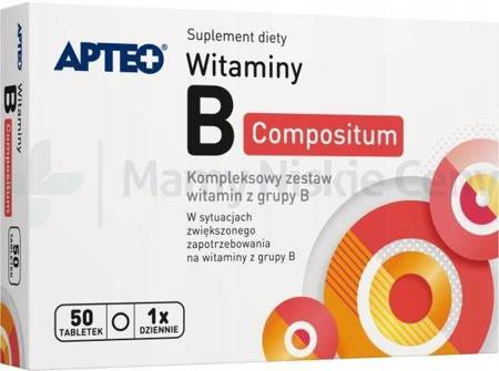 Witamina B compositum APTEO 50 tabletek powlekanych